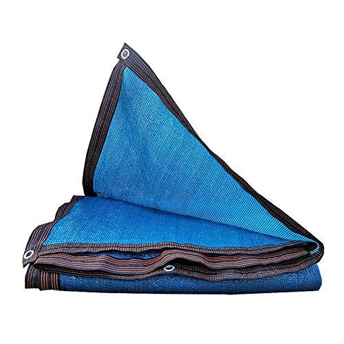 AWSAD Azul Toldo Parasol,Marquesina De Techo De Flores Tela De Sombra para,Antiedad, 23 Tamaños (Color : Blue, Size : 5x6m)