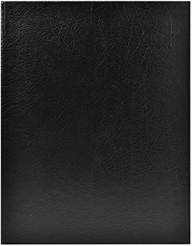 Exacompta 4719E Gstebuch (Alpille, Hochformat, ohne Druck, 140 Seiten, blanko, 22 x 27cm, elegant und robust) 1 Stück schwarz