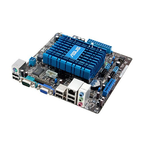 Asus Atom D525/Intel NM10/A&V&GbE/Mini ITX LGA 775 Motherboards (AT5NM10T-I)