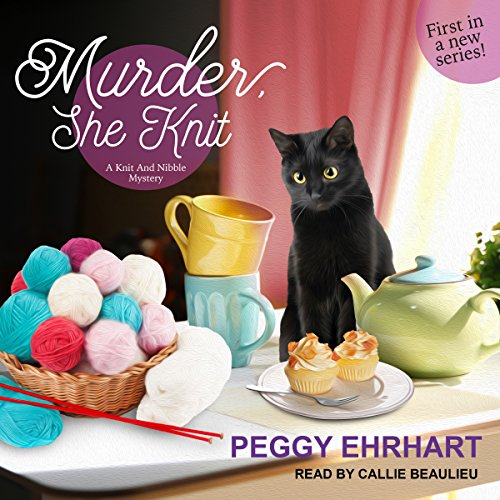 Murder, She Knit audiobook cover art