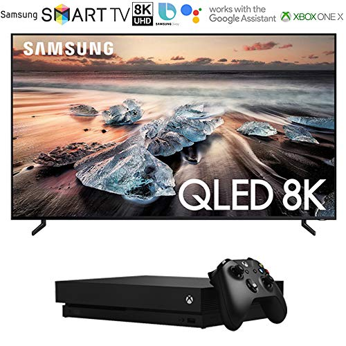 Read About Samsung QN75Q900RB 75 Q900 QLED Smart 8K UHD TV (2019 Model) with Microsoft Xbox One X 1...