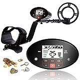 INTEY Metal Detector Professionale con Tocca Il Pannello LCD e Retroilluminazione, 4 modal...