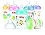 Nûby 011926 weithalsflasche Polypropylen, 270 ml, mehrfarbig