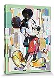 1art1 Micky Maus - Disney Portraitkunst, Büro Decoupage