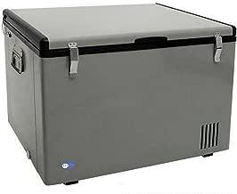 Whynter FM-85G 85-Quart Portable Refrigerator/Freezer, Platinum