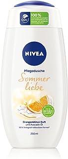 NIVEA Sommerliebe verzorgende douchegel (250 ml), zachte douchegel met avocado-olie, douche met verfrissende, fruitige sin...