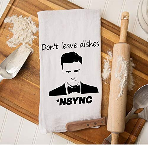 Justin Timberlake Gifts Funny Housewarming Branded goods Kitche NSYNC Large special price