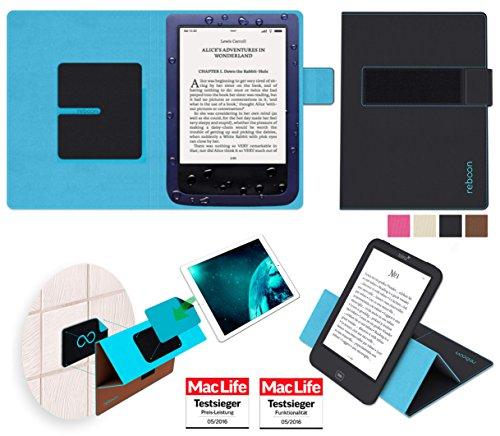 Hülle für PocketBook Aqua Tasche Cover Hülle Bumper | in Schwarz | Testsieger