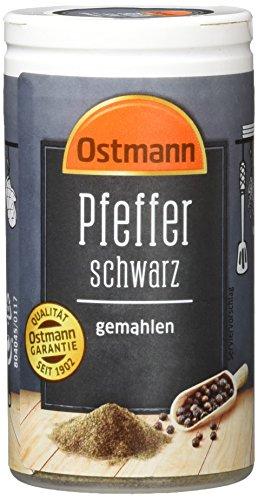 Ostmann Pfeffer schwarz gemahlen, 40 g