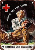 金属救済赤十字看護師に必要な鉄ポスター絵画ティンサインヴィンテージ壁の装飾カフェバーパブホームビール装飾工芸品レトロヴィンテージサイン
