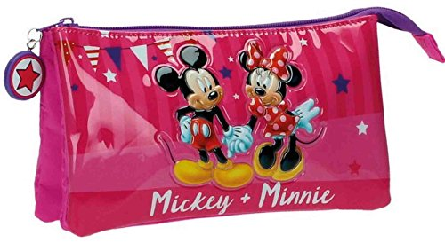 Disney Mickey et Minnie Party Vanity, 22 cm, 1,32 L, Rose