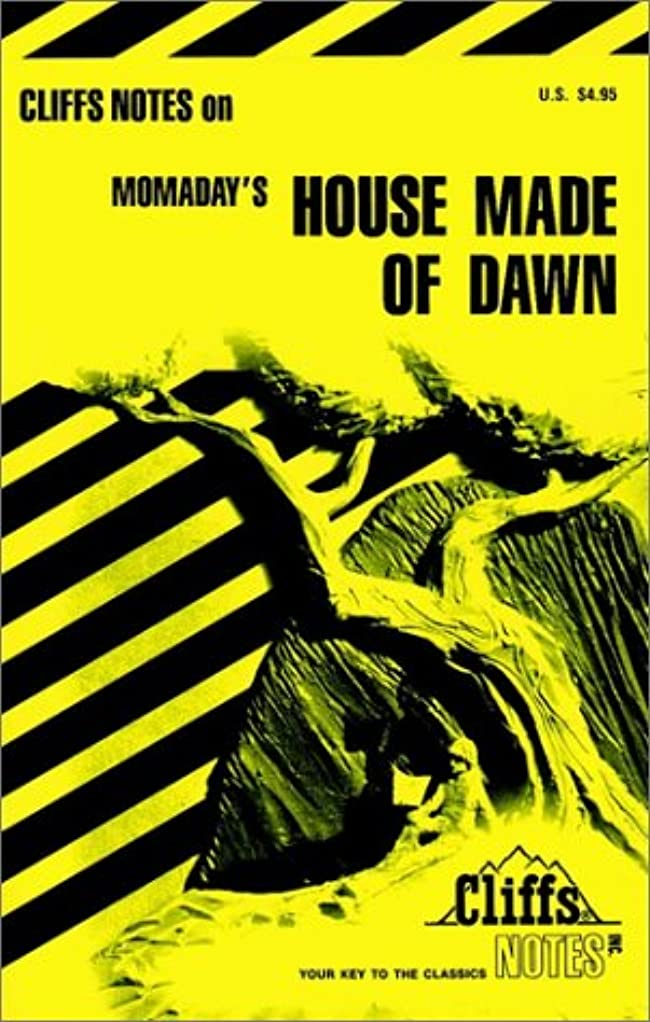 地中海暗いスタジオCliffsNotes on Momaday's House Made of Dawn (Cliffs Notes)