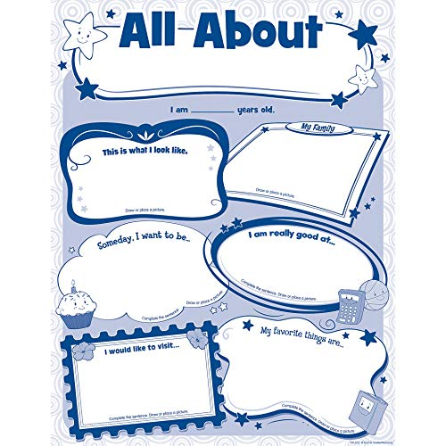 Teacher Created Resources 5222 All About Me Poster Pack