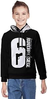 R-ainbow Six S-iege Unisex Teenage Hoodie 3D Print Pullover Hooded Sweatshirt voor jongens en meisjes