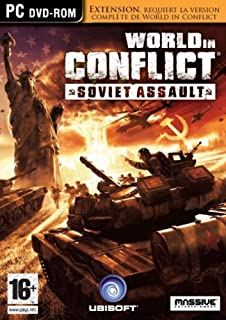 World in conflict : soviet assault - Extension (B001RS3Q5A) | Amazon price tracker / tracking, Amazon price history charts, Amazon price watches, Amazon price drop alerts