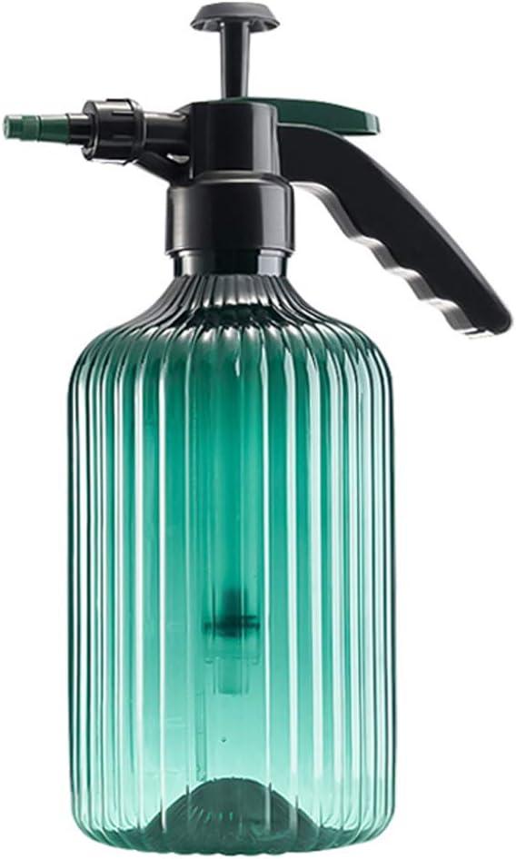 jardines flores pl/ástico transparente para riego de presi/ón de aire con boquilla ajustable para limpiar plantas Botellas de pulverizaci/ón de 2 litros suculentas y c/ésped en maceta