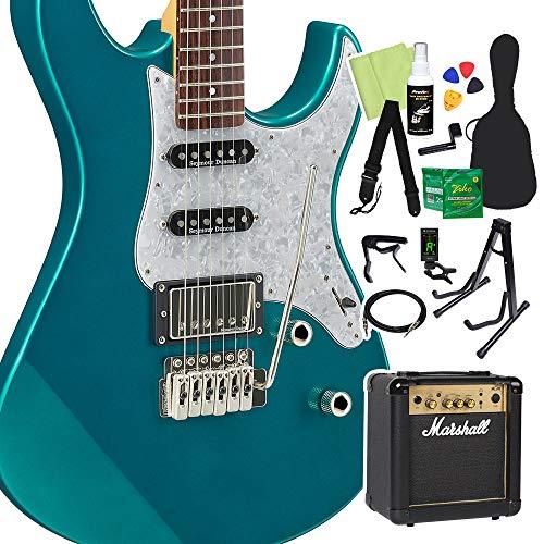 YAMAHAPACIFICA612VIIXエレキギター初心者14点セット【マーシャルアンプ付き】TGMヤマハ