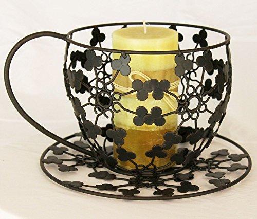 Theemok CH143 pot vaas van metaal 26 cm plantenstandaard pot plantenpot bloempot