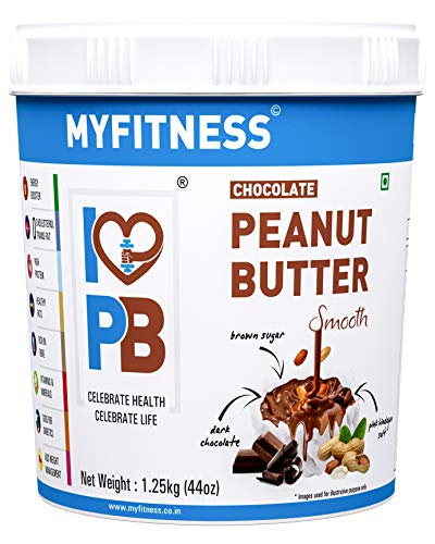 MYFITNESS Chocolate Peanut Butter Smooth (1250g (Single...