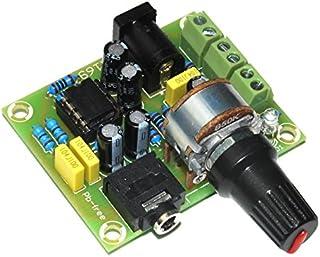 ArliKits AR169 wzmacniacz stereo do słuchawek z TDA2822 zestaw 2 kanałów, zielony