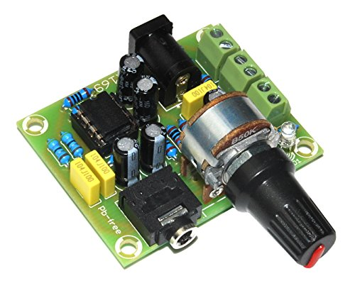 ArliKits AR169 stereo versterker voor koptelefoon met TDA2822 bouwset 2 kanalen groen