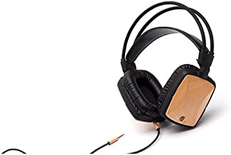 Griffin GC36503 WoodTones Over the Ear Headphones for Smartphones and MP3 Devices, Beech