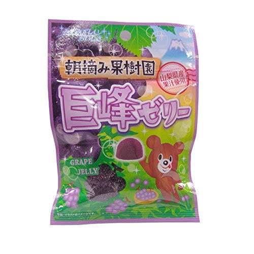 八雲製菓 朝摘み果樹園巨峰ゼリー 45g×6袋