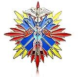 Don Flyee 大型サイズ バッジ 合金製 功五級金鵄勲章 旧日本軍 陸軍 大日本帝国 C0004
