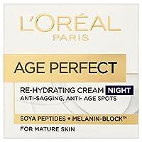 L'Oréal Paris Alter Perfekte Pro-Calcium-Stärkende Nachtcreme 50 Ml - Packung mit 2
