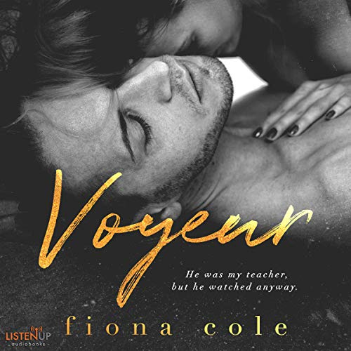Voyeur audiobook cover art