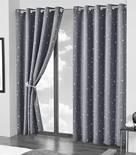 Olivia-Rocco-Blackout-Curtain-Pair-Glow-In-The-Dark-Black-Out-Curtains-Thermal-With-Eyelets-Ring-Top-Window-Treatment-Kids-Nursery-Bedroom-46-x-54-Grey-Stars