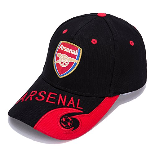 Arsenal Club Embroidered Hat Baseball Cap Adjustable Cap Soccer Fans, Best Gifts For Soccer Players