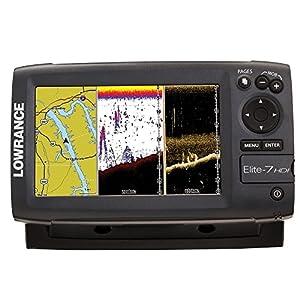NEW Lowrance Elite 7 HDI Fishfinder 83/200 455/800 Khz Tm