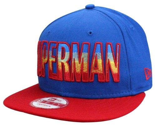 New Era Casquette Snapback Superman Hero Fade Taille S/M de