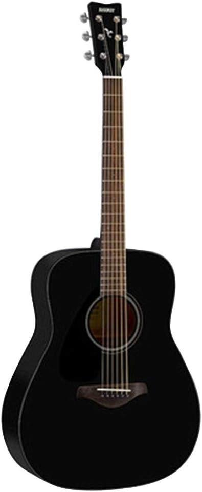 Instrumentos musicales Guitarra eléctrica Yamaha Fg800BL Junta Folk eléctricos Box Principiante Hombres Mujeres alumno y 41 Pulgadas Guitarras (Color : Black, Size : 103 * 40 * 12cm)