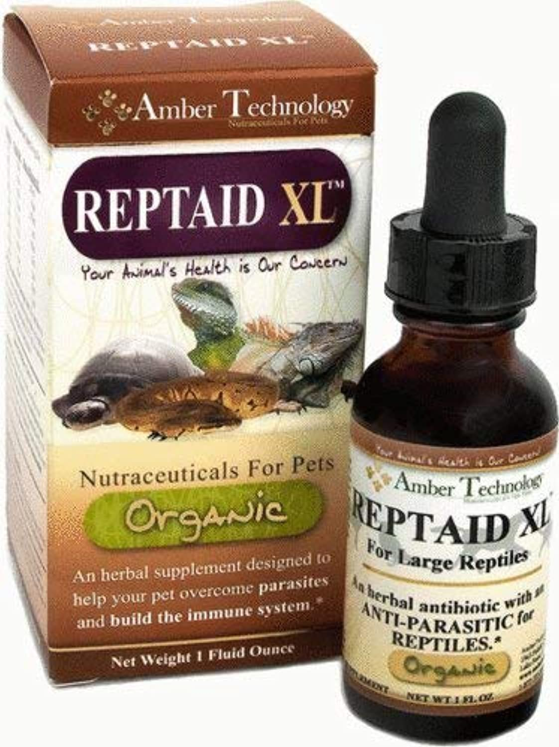 Amber Technology, Reptaid XL, 1 oz.