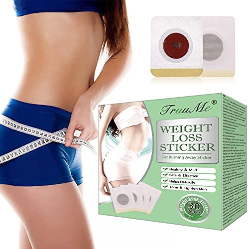 Slimming Patch, Weight Loss Sticker, Slim Patch, Anti Cellulite & Fat Burning Quick Slimming Patch für Bierbauch, Eimer Taille, Bauchfett Taille, Starke Wirksamkeit und...