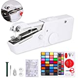 Hand-held Sewing Machine for Beginners Portable Mini Sewing Machine Stapler Cordless Set Electric