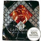 Prosciutto Iberico Pata Negra Affettato a Mano - 100 grammi Jamon Iberico Stagionato 36+ Mesi con Processo di Stagionatura Naturale al 100%