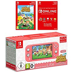 Nintendo Switch Lite is a compact, lightweight addition to the Nintendo Switch family, with integrated controls. Nintendo Switch Lite supports all Nintendo Switch software that can be played in handheld mode. It's great for people who have lots of op...