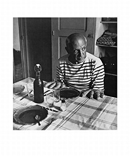 Robert Doisneau - Die Brötchen Von Picasso Poster Kunstdruck (60 x 50cm)