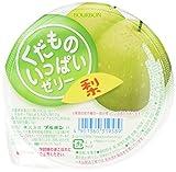 果物いっぱいゼリー 梨 160g