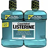 Product of Listerine Cool Mint Antiseptic Mouthwash, 2 pk./1.5L - Oral Rinse & Mouthwash [Bulk Savings]