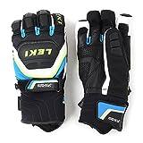 Leki Handschuhe Worldcup Race Coach Flex S GTX - Guantes de esquí para Hombre, Color Negro, Talla DE: 10