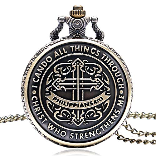 Dios Jesús Christian Reloj de Bolsillo Colgantes religiosos onlywatch