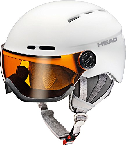 HEAD Damen Queen Skihelm, White, M/L /54-57