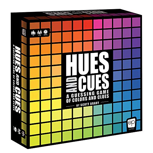 HUES and CUES | Vibrant Color Guessing Game Perfect for Family Game Night | Connect Clues and Colors Together | 480 Color Squares to Guess from