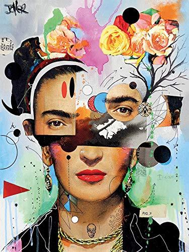 """3.20 x 40.00 x 50.00cm Loui Jover /""""tempest/"""" Canvas Print Multi-colour Cotton"""