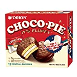Pack of 12 pieces of individually packed pies per box Chocolate coated marshmallows Vanilla cream sandwich pie