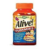 Nature 's Way Alive. Premium Gummies para los niños
